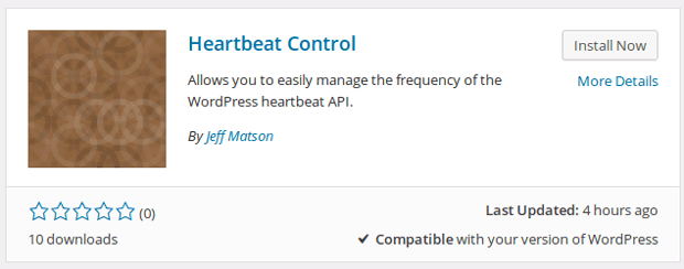 Heartbeat Kontrola Plugin