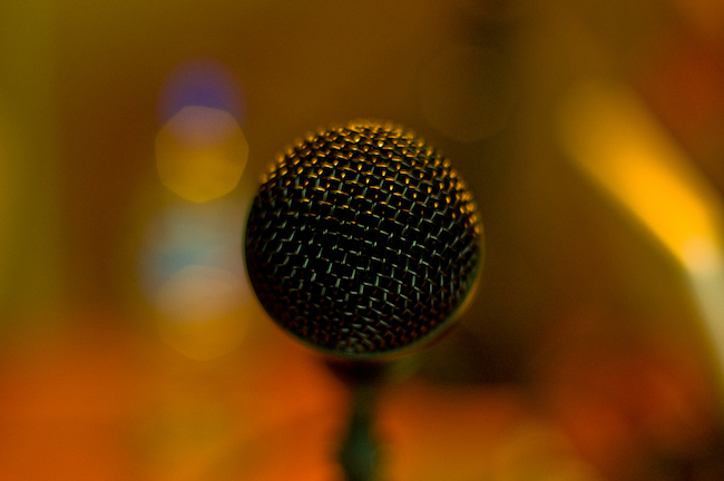 image of a microphone