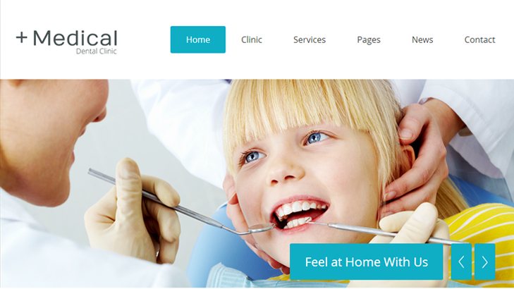 Medycyna Dental Clinic Health Premium WordPress Theme