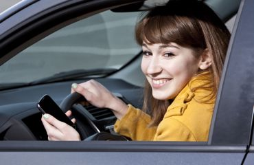 Teen iPhone Driving