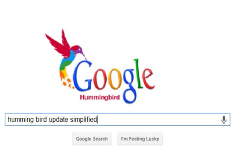 Hummingbird Google Update