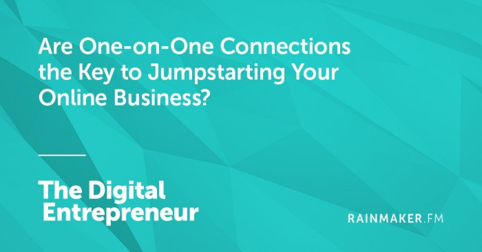 Czy One-on-One Połączenia klucz do Jumpstarting Your Online Business?